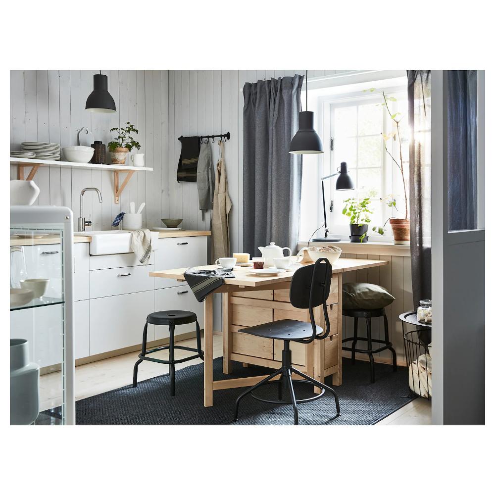 Norden Gateleg Table Birch 10 1 4 35 59 7 8x31 1 2 In 2020 Norden Gateleg Table Small Kitchen Storage Table