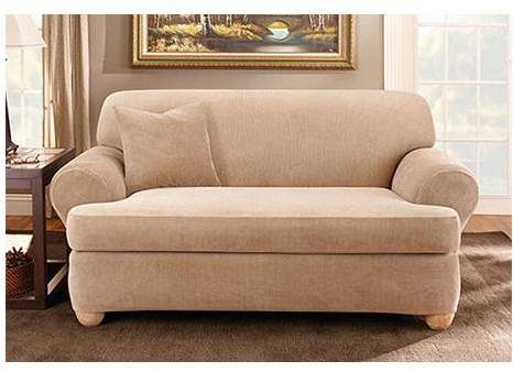 stretch stripe t cushion sofa slipcover products pinterest rh pinterest com