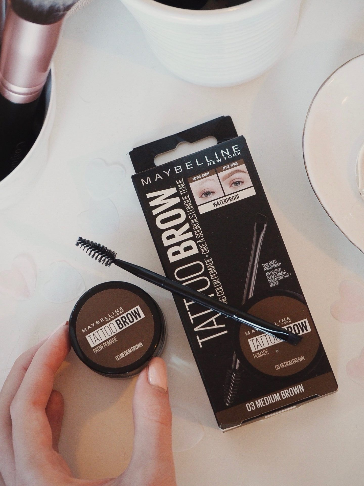 A New Launch From Maybelline Tattoo Brow Pomade Review