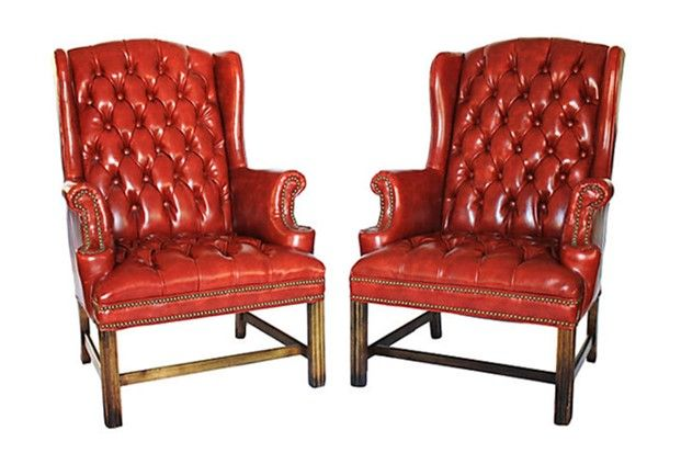Pair Of Sam Moore Wingback Chairs Wingback Chair Chair