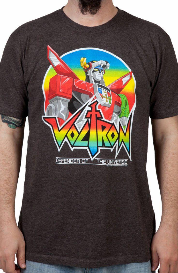05d2b552d Defender Voltron Shirt: 80s Cartoons Voltron T-shirt | Tee's Shirt ...