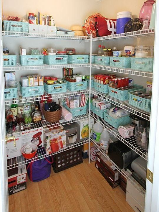 beautifully organized clever pantries cool decor kitchen rh pinterest com