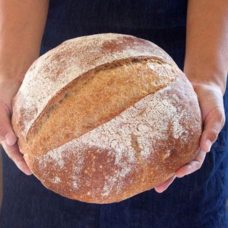 Amazing No Knead Bread ( 4 Easy Steps and Whole Grain ...