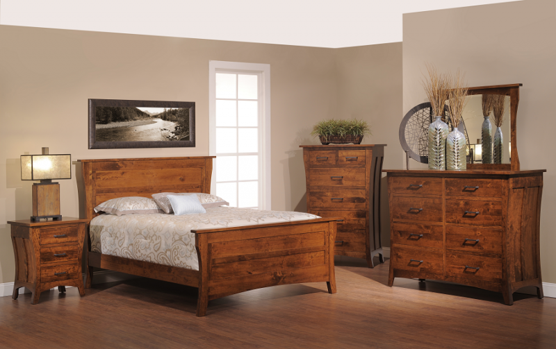 Our Mission Styled Westfield Bedroom Set Ripe With Charm Style