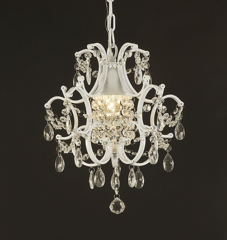 Jac D Lights J10 592 1 Wrought Iron Crystal Chandelier 14x11x1 Ceiling Fan Chandelierflower