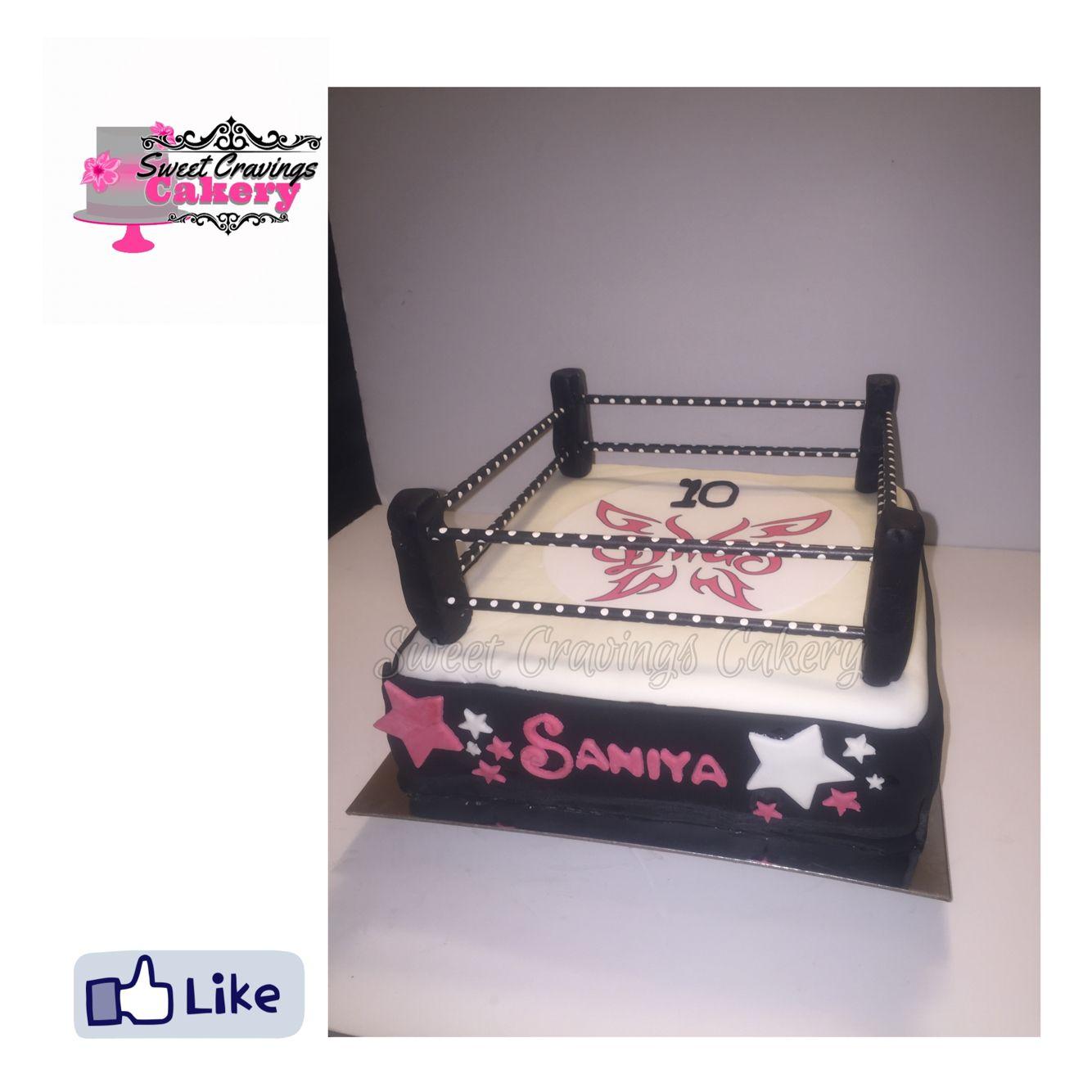 Wrestlingringcake Wwe Divas Cake Sweet Cravings