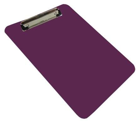 detectamet metal and x ray detectable food safe a5 purple plastic board economy chrome