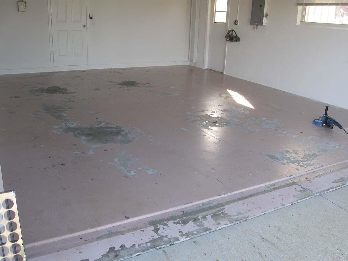 Two Car Garage Epoxy Floor Coating In Des Moines Iowa