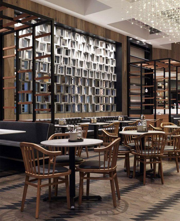 warm and rustic cafe interior furniture design cotta cafe