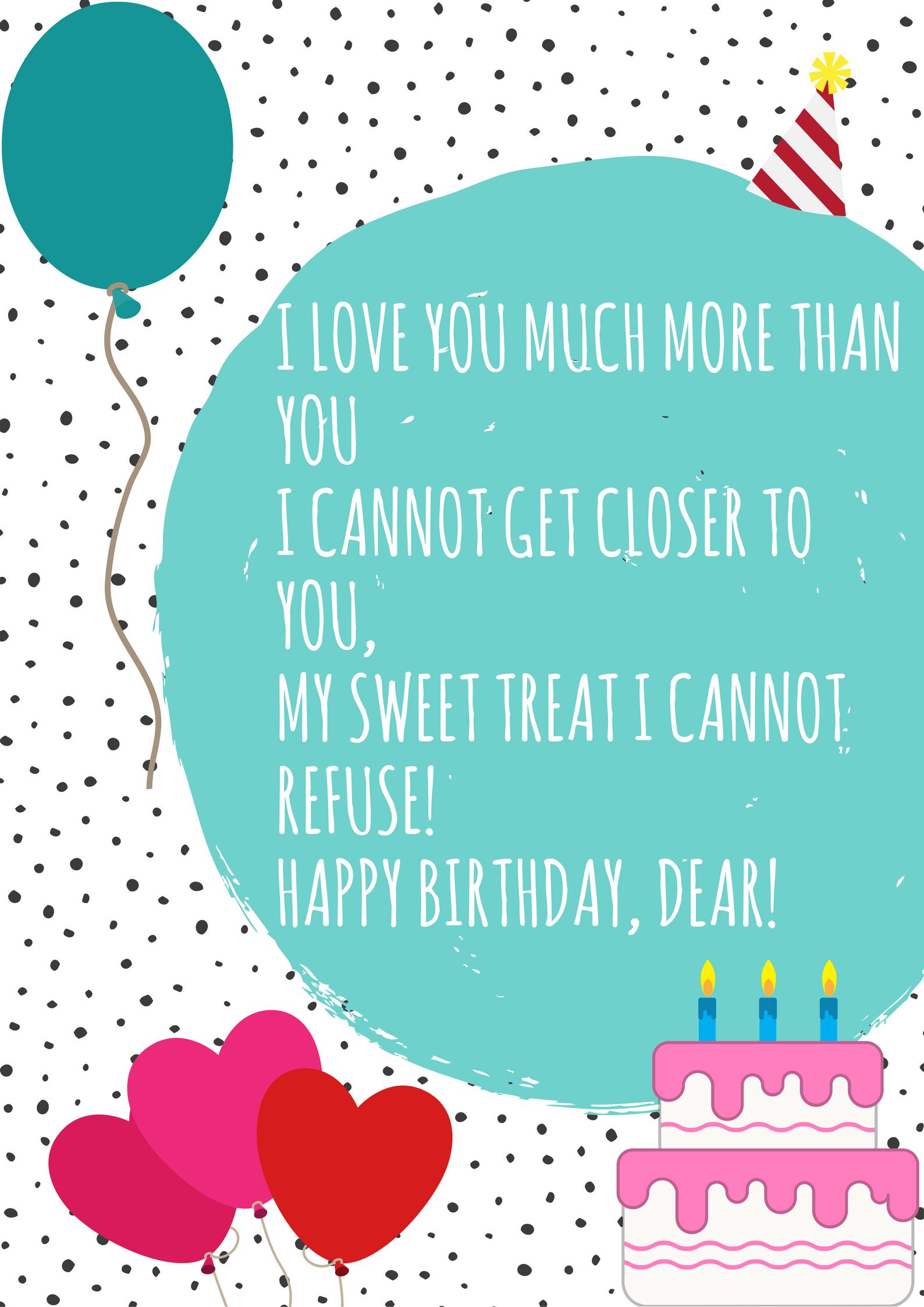 Short Birthday Poems 1