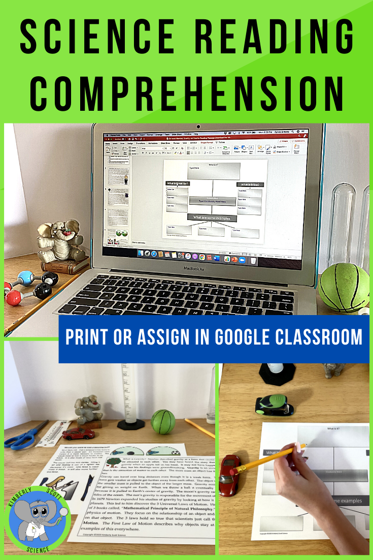 Science Reading Comprehension Texts For Digital Learning In 2021 Science Reading Comprehension Reading Comprehension Science Reading [ 1102 x 735 Pixel ]