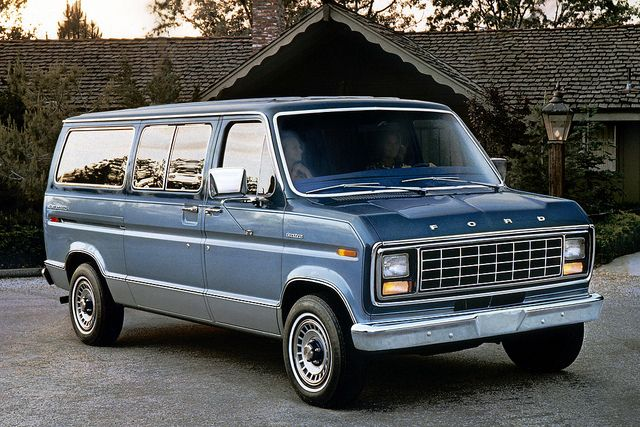 This Looks A Lot Like The Van That My Family Had When I Was A Kid
