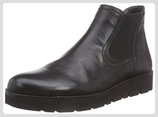 Gabor Shoes 32.581 Damen Kurzschaft Schlupfstiefel, Schwarz