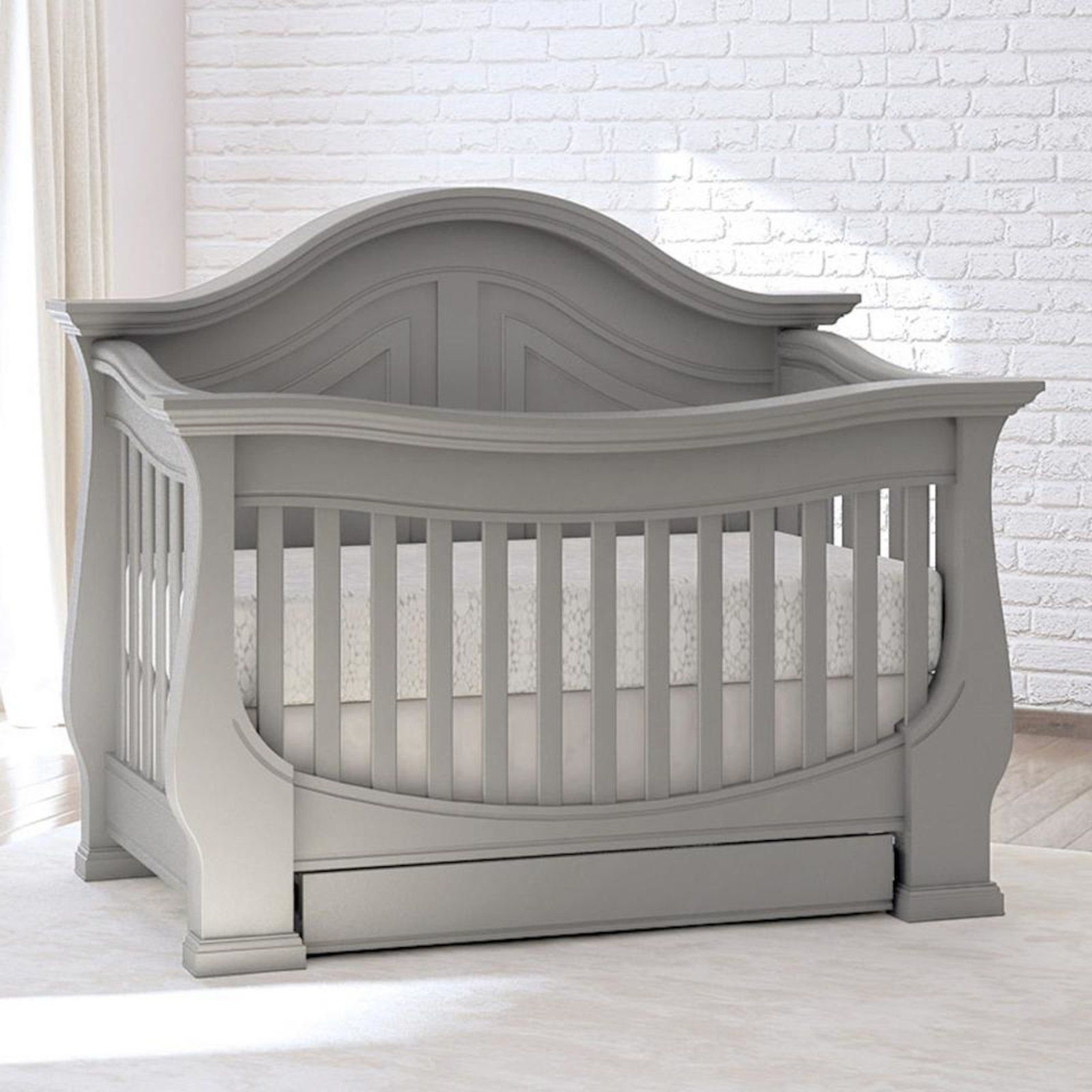 Eco Chic Baby Dorchester 4 In 1 Convertible Crib With Storage