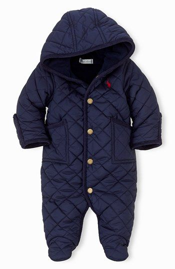 d3d84039f4 Ralph Lauren Bunting (Baby Boys) available at #Nordstrom | My Max ...