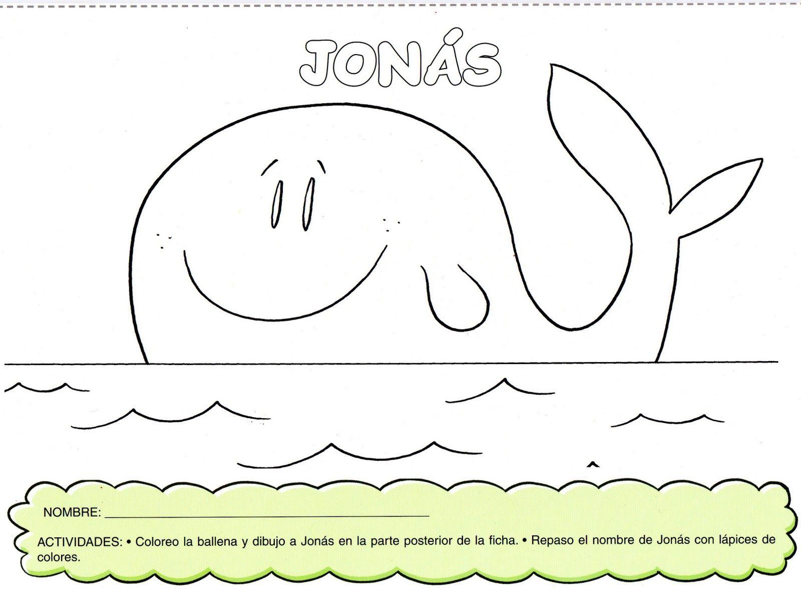 jonas y la ballena - Google Search | Hola Classroom | Pinterest | La ...