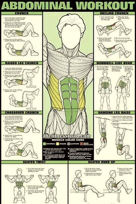 Abs workout chart also body inspiration fitness abdominal rh pinterest