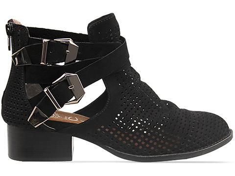WANT! Jeffrey Campbell Everly in Black Punched Nubuck