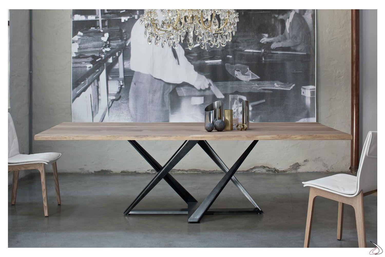 Tavolo Millennium Nel 2020 Tavolo Moderno Tavolo Design Tavoli Da Pranzo In Legno