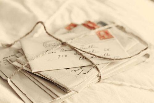 Cartas de amor mucho más románticas que los e-mails!
