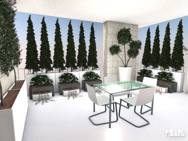 terrazzi arredati - Cerca con Google | Idee per la casa | Pinterest ...
