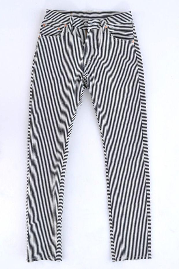 4aee0d91 LEVI's Railroad Striped 505 Jeans . Menswear | MEN | Mens fashion:__ ...