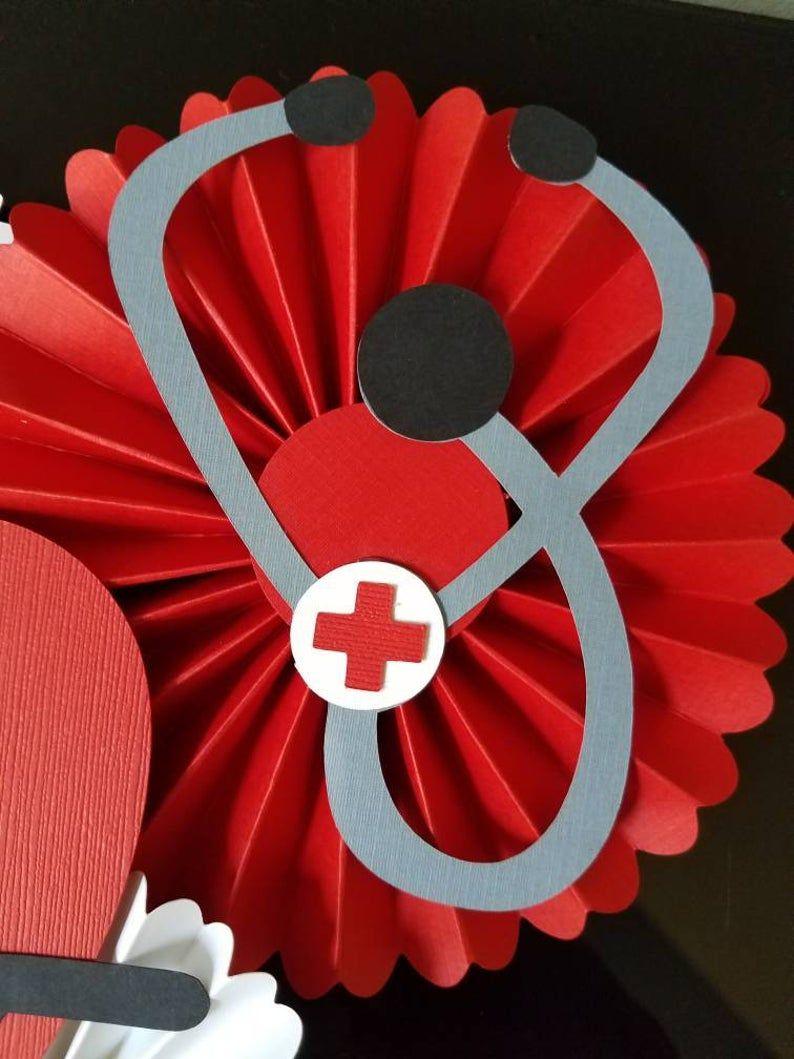 Doctor centerpiece nurse centerpiece healthcare