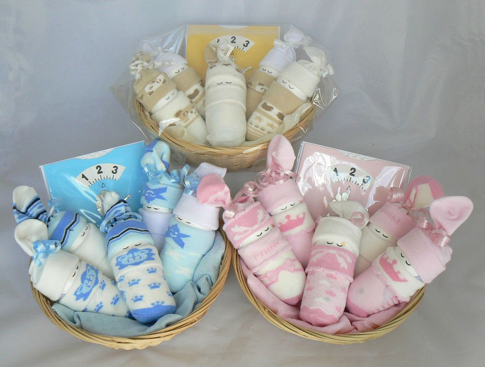 boy/girl/unisex/twins sleeping sock babies gift. nappy cake baby, Baby shower invitation