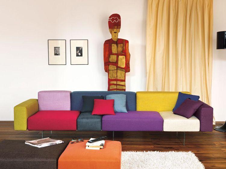 Design Sofa und moderne Sitzmöbel für Wohnbereiche mit Charakter