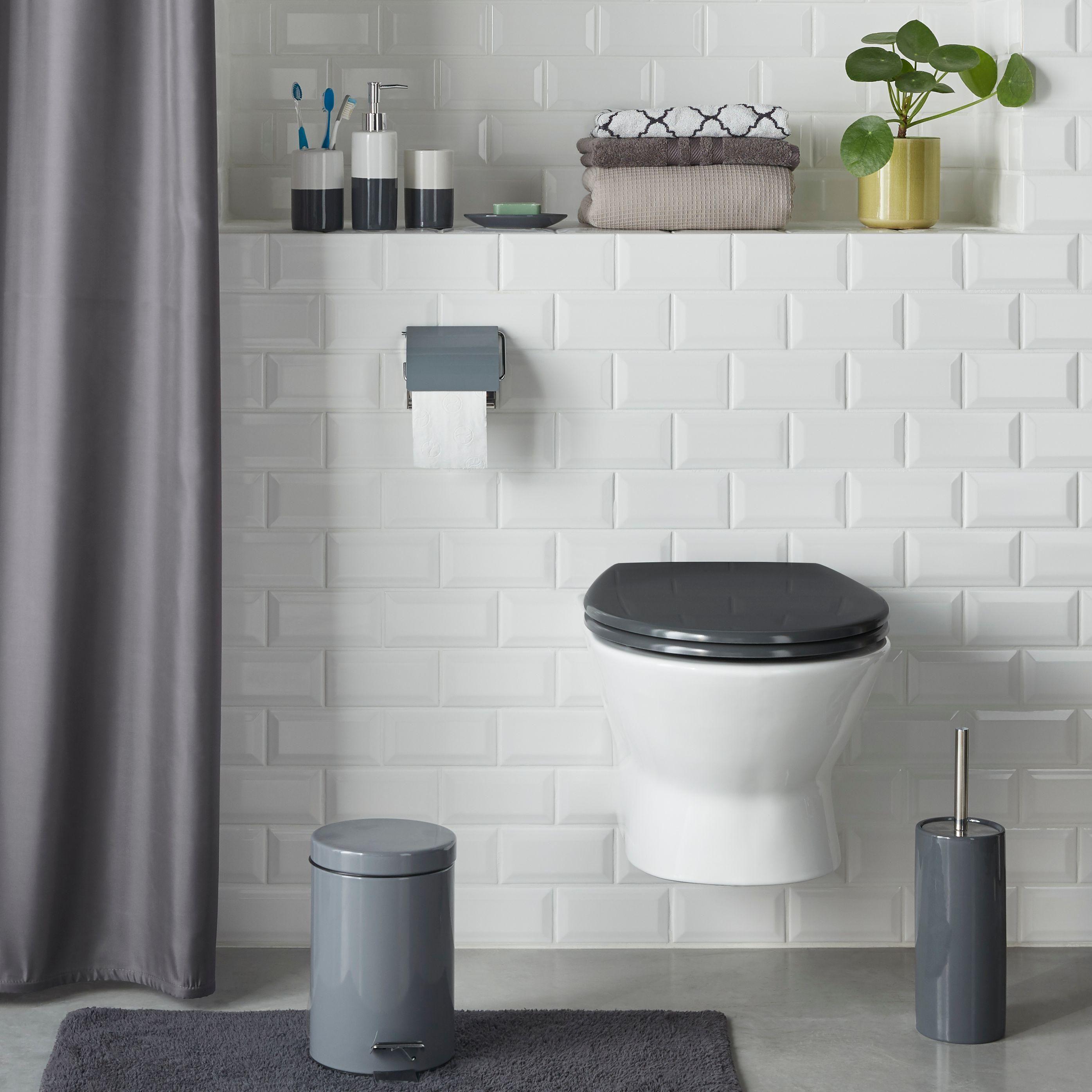 Grey Sparkle Bad Accessoires Badezimmer Renovieren Badezimmer Zubehor Badezimmer S