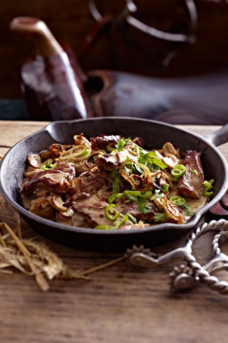 Photo of Steak pan with mushrooms recipe DELICIOUS
