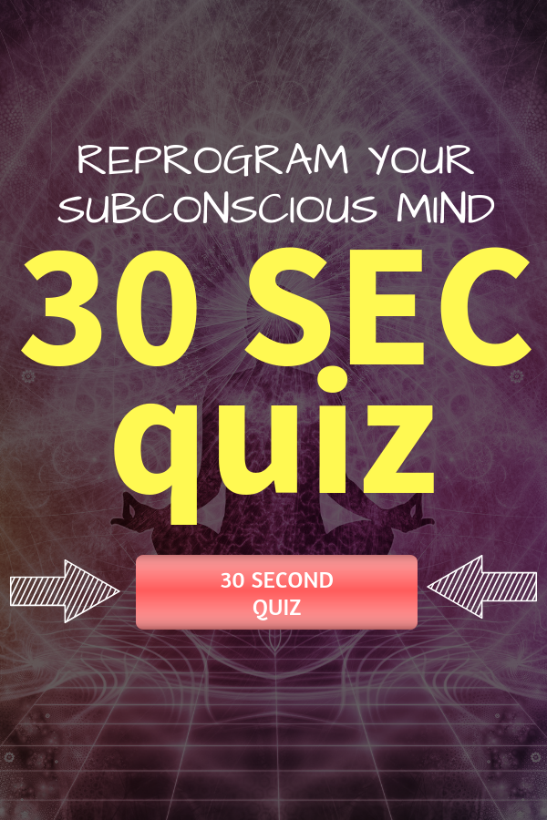 Our subconscious mind is responsible for 95 percent of our