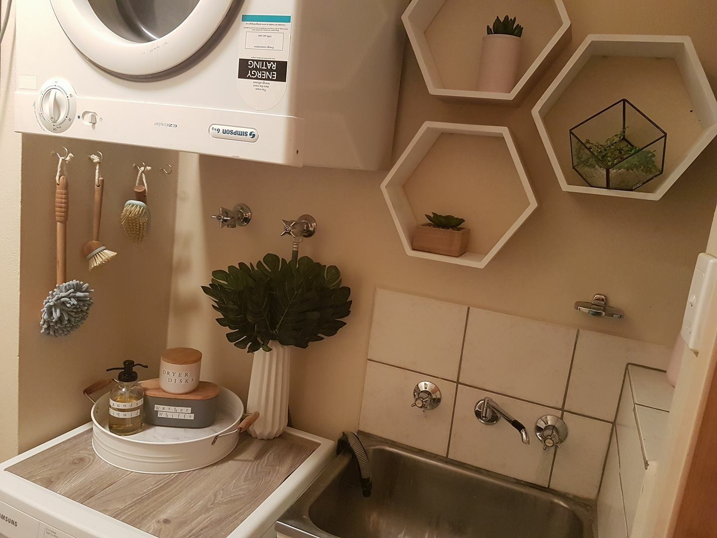 Kmart Laundry Room Styling