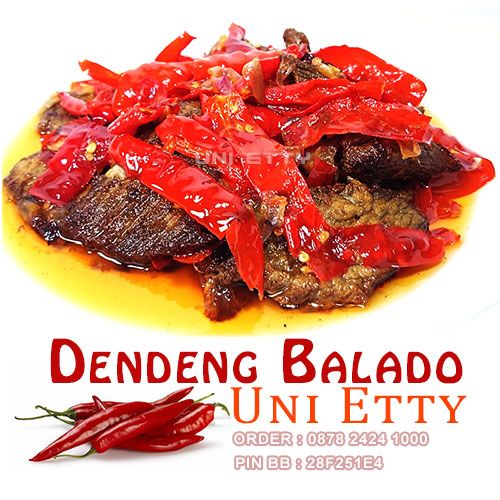 Dendengbalado Com Dendeng Balado Batokok Asli Padang Terbuat Dari 100 Daging Sapi Terbaik Bagian Has Dalam Tenderloin Yaitu Daging Sapi Da Food Padang Beef