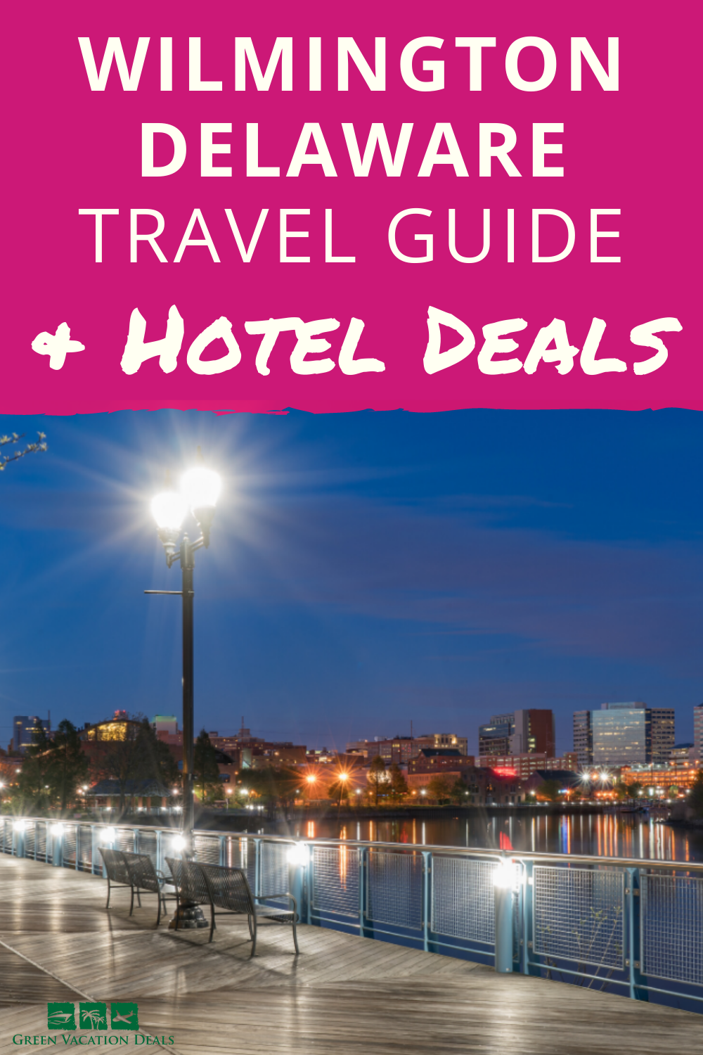 Travel guide for Wilmington, Delaware. Learn about sightseeing, activities (hiking, biking, parks, zoo, gardens, golf...) & how to save up to 71% off hotels. #Wilmington #Delaware #summertravel #summervacation #traveldeals #hoteldeals #hotelsale #travelsale #travelhacks #art #citybreak #BrandywinePark #BrandywineZoo #golf #tennis #biking