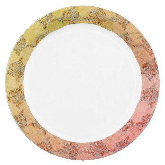 Hand-Painted_China-Golden-Sea-glass-Fabric-Print Paper Plate  sc 1 st  Pinterest & Hand-Painted_China-Golden-Sea-glass-Fabric-Print Paper Plate ...