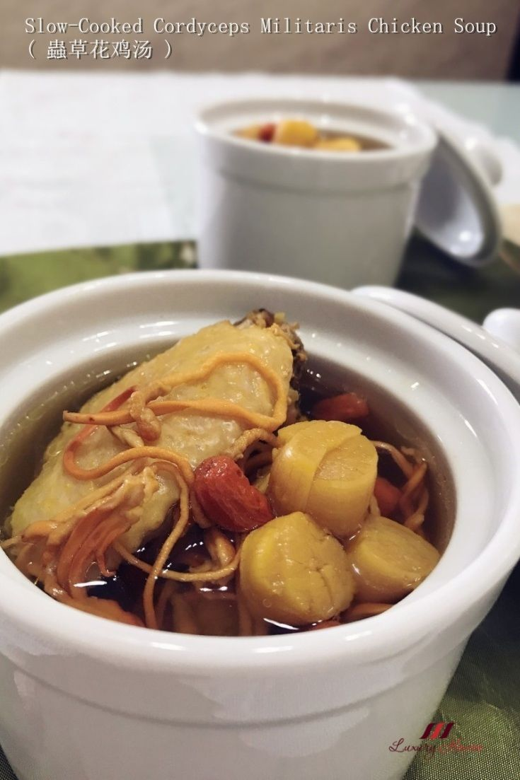 If you are into tcm try cooking this tasty slow cooked cordyceps if you are into tcm try this tasty slow cooked cordyceps militaris chicken soup the herb is known to support healthy lungs and kidney forumfinder Gallery