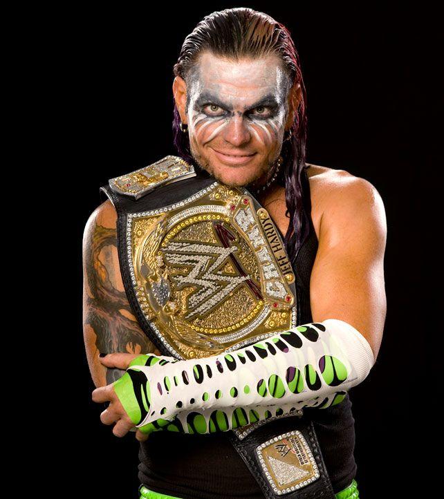 WWE Champion Jeff Hardy