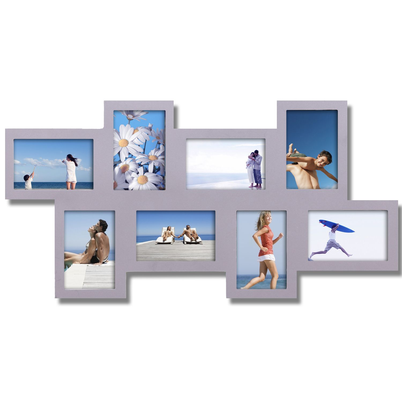 This Alternating, Interlocking Frame Makes A Modern And Stylish Addition