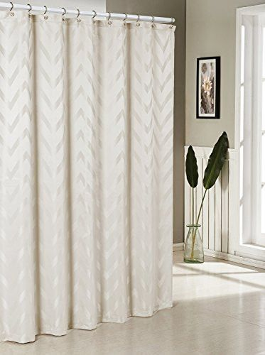 Royal Bath Behrakis Jacq Shower Curtain /Ivory