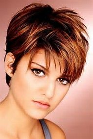 Image Result For Short Haircuts For Round Faces And Thin Gray Hair