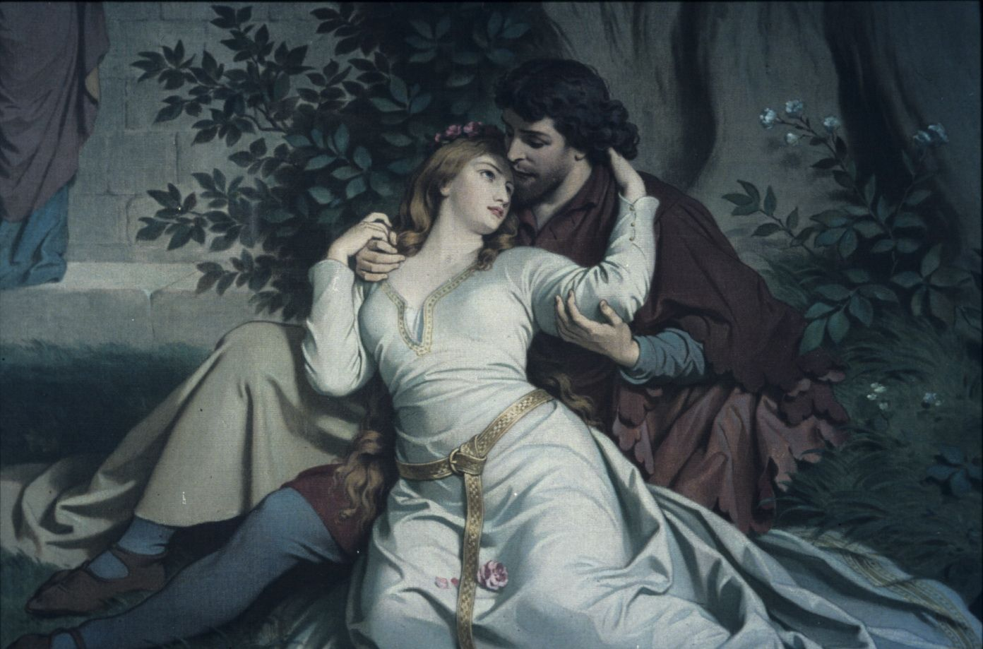 August Spiess - Tristan and Isolde, 1881