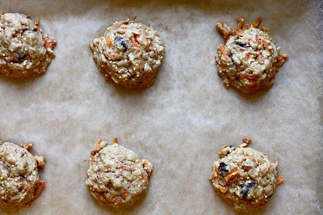Vegan Carrot Cherry Breakfast Cookies Breakfast Cookies Savoury Food Cherries Breakfast