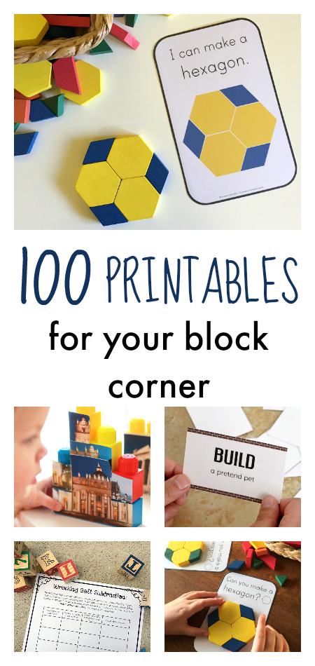 Up! Building Activities for Kids | Block play, Block ...
