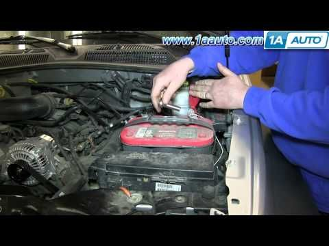 147 How To Install Replace Fix Dead Battery 2002 07 Jeep Liberty You