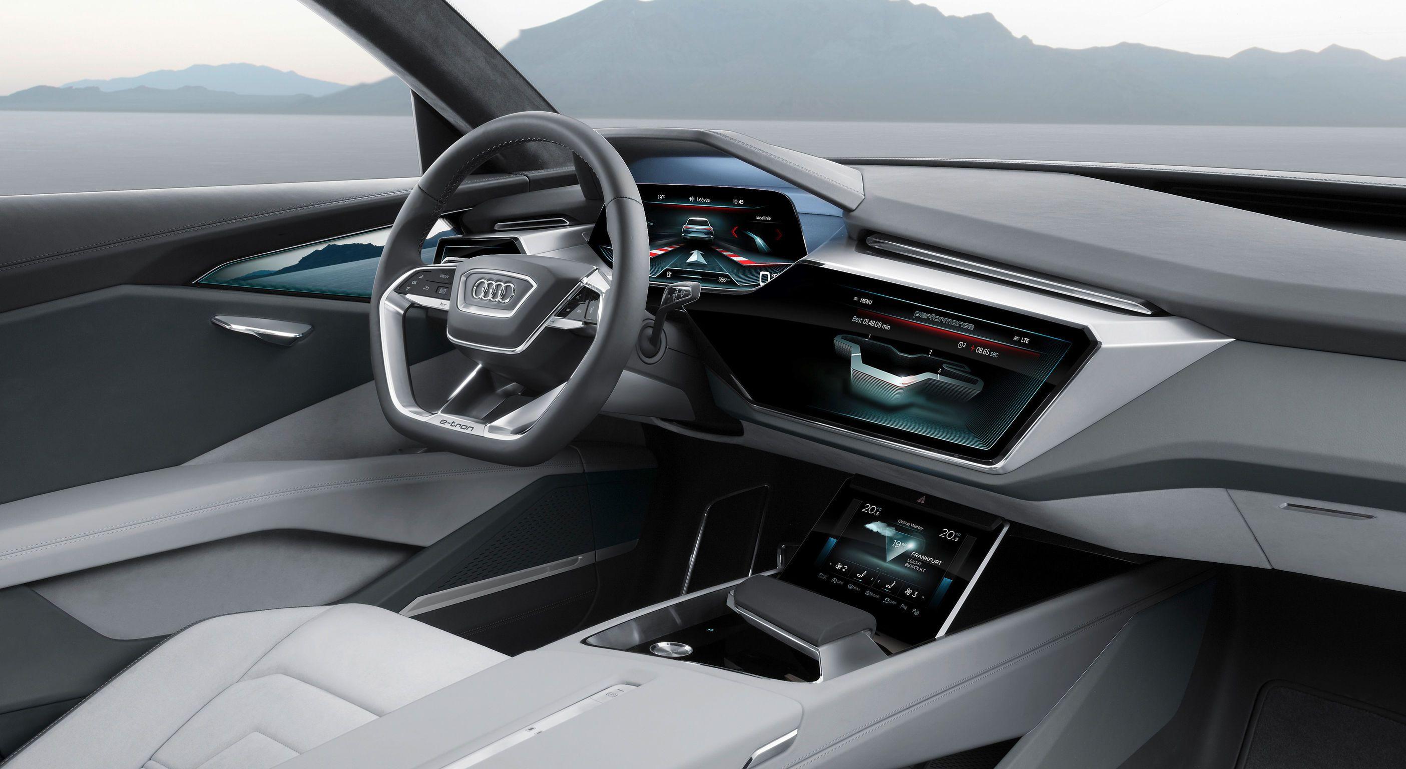 Audi E Tron Quattro Audi E Tron Audi Interior E Tron