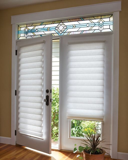 Blinds For French Doors A Way To Secure And Beautify Your Home Blinds For French Doors Patio Door Window Treatments Door Coverings