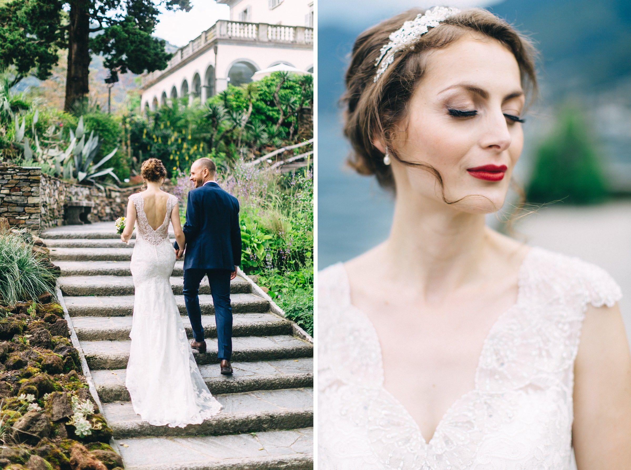 Wedding Dress Brautkleid Hochzeit Auf Einer Insel Im Lago Maggiore Hochzeit Kleid Hochzeit Braut