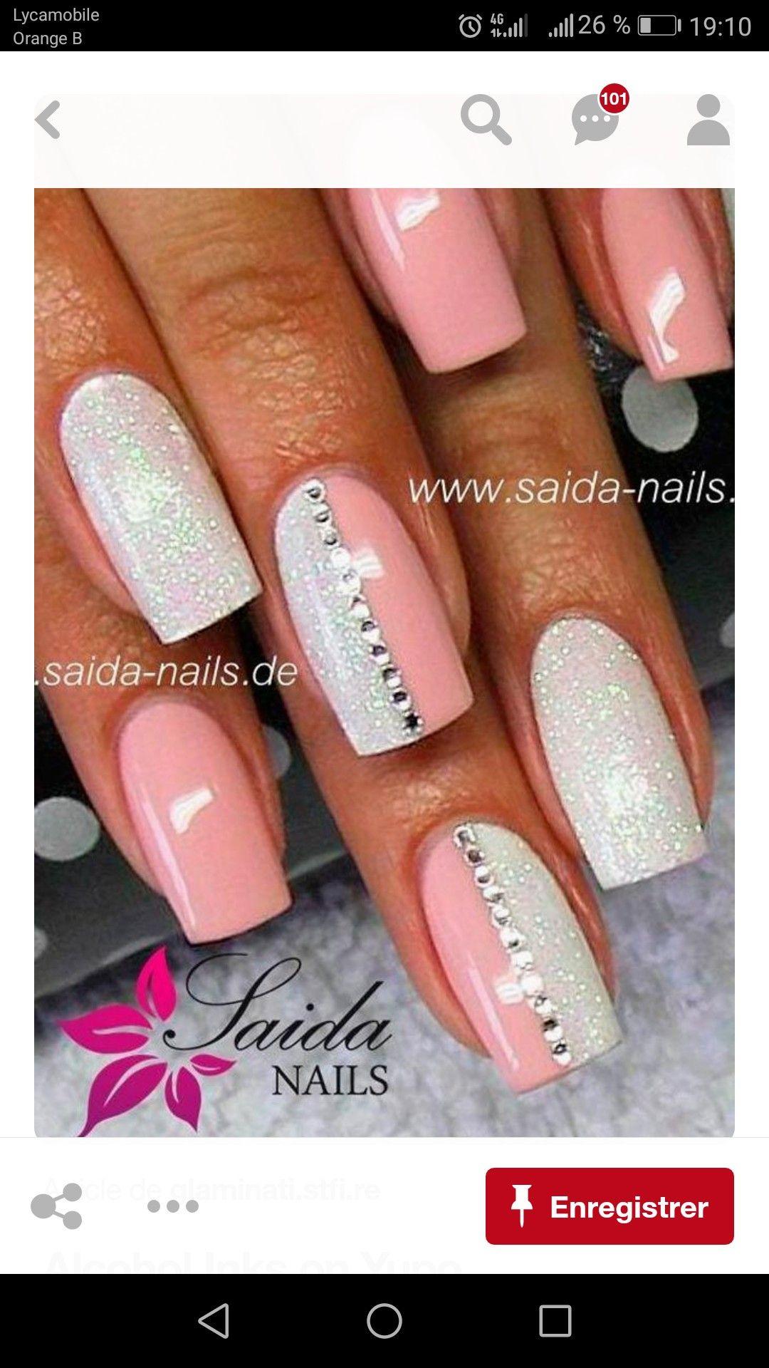 Pin by gia gee on lovinu the nail art pinterest pretty nail