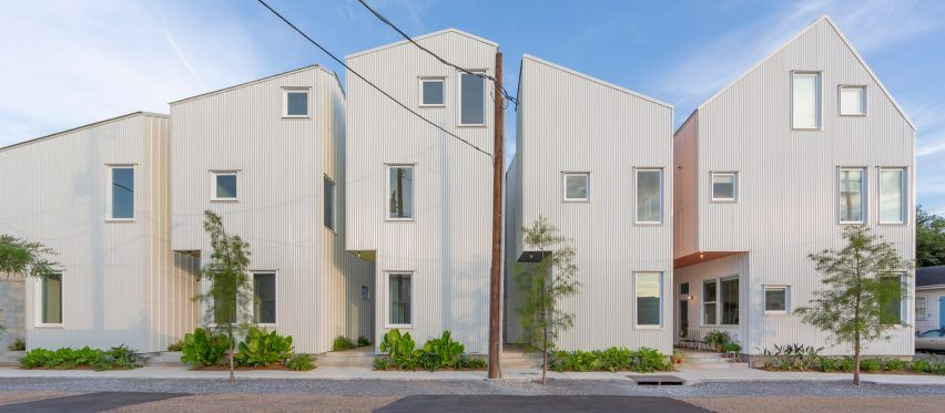 Ojt Completes Sculptural Affordable Housing In New Orleans Starter Home Affordable Housing Architecture